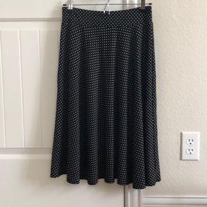 Covington polka dot skirt